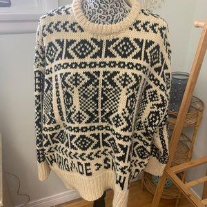 Zara women's knit sweater